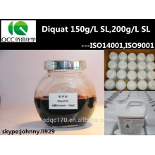 agrochemicals pesticide diquat 95%TC40%TK, 20%SL 15%SL(150G/L) CAS No.:2764-72-9 Herbicide