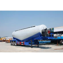 3 axles 60CBM bulk cement powder trailer / dry powder tank trailer/powder transportation trailer /cement bulk silo trailer/