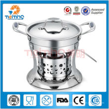 stainless steel melting pot chocolate