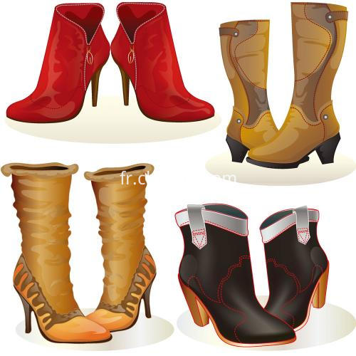 ladies lower heel boots