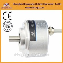 thin encoder SJ50 rs485/rs422 absolute glass disk 11bit CCW rotation