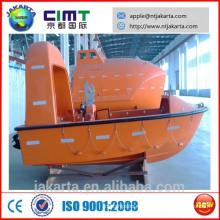 Cabina aluminio abierto barco de rescate rápido grp CCS BV