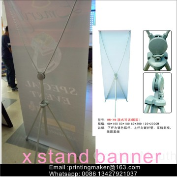 X Banner Stand Sign Poster Display