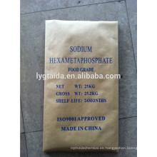 SHMP 68% Hexametafosfato de sodio