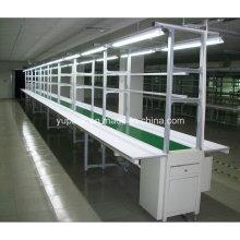 Автоматический конвейер ленточного конвейера с рабочей скамьей / монтажной рабочей скамьей