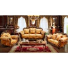 Ensemble de sofa en bois pour les meubles de maison et d'hôtel (929)