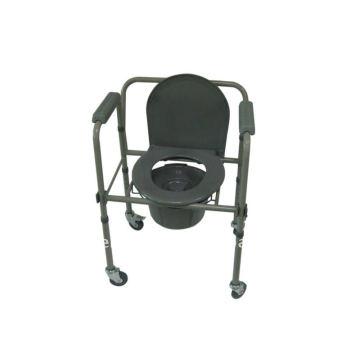 2011 Cadeira Commode de alumínio com balde e tampa