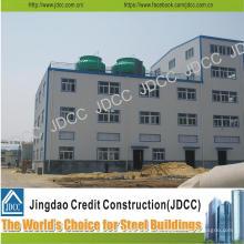 Edificio de estructura de acero de la oficina de la fábrica de bajo costo