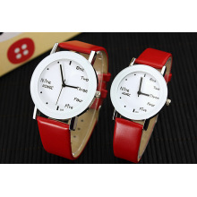 Simple Design Japon Mouvement Promotion Couple Watch
