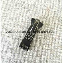 Altamente Polido 5 # Auto Bloqueio Slider Zipper Plástico