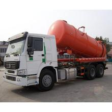 10 Wheels 20 CBM Sewage Suction Truck