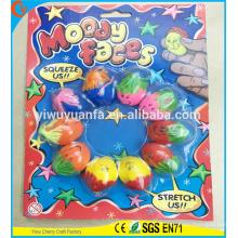 Heißes verkaufendes Qualitäts-Neuheit-Entwurfs-schwermütiges Lächeln-Gesichts-Ausdehnungs-Kugel-Spielzeug