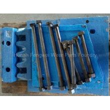 Pièces de concasseur à mâchoires pour Terex Xr400