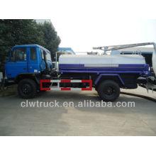 Dongfeng 4x2 фекальный всасывающий грузовик, 10m3 фекальный грузовик