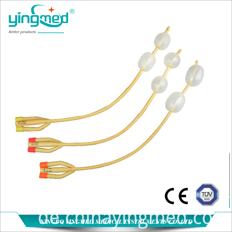 Double Balloons Foley Catheter