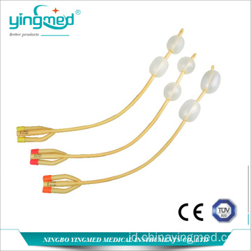 3-way Double Balloons Foley Catheter