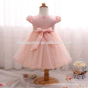2017 Flower Baby Girl Christening Wedding Party Pageant Lace Dress Newborn christening gowns infant