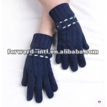 Young women fashion cashmere gloves