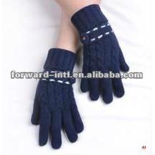 Молодых женщин мода кашемир перчатки