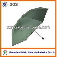 OEM и оптовые дешевые черной в 3 раза мини-зонтик
