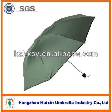 OEM e atacado barato Promation 3 Fold Mini guarda-chuva