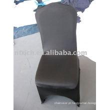 capas de cadeira spandex preto, CTS633 tampa da cadeira de spandex, tampa da cadeira de estiramento para o banquete, casamento, hotel