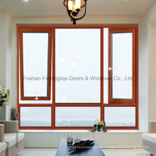 Feelingtop Awning Thermal Break or Casement Aluminum Window (FT-108)