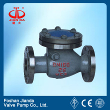 WCB flange JIS 10k check valve 6 inch