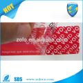 Найти лучшие цены анти-поддельные наклейки tamper очевидной безопасности печати ленты поставщиков в Китае