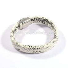 2015 nueva pulsera hecha a mano de python de llegada