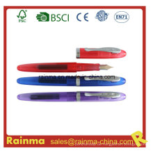 Plastikflüssigkeits-Füllfederhalter mit Tintenpatrone