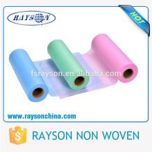 Дешевые мягкие чувство ткань пеленки СС Водонепроницаемый низкая цена рулон ткани для пеленки делая