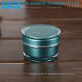 YJ-R30 30g Großhandel leer Spitzenqualität Kegel Runde 1oz Acryl Creme Glas