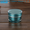 YJ-R30 30g wholesale empty top quality taper round 1oz acrylic cream jar