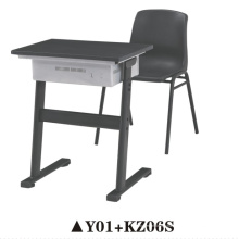 Silla de estudiante de la venta caliente / escritorio de la escuela y silla / silla de los niños