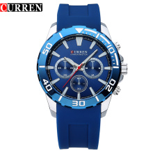 Casual Silicone Sport Quartz Wristwatches For Men