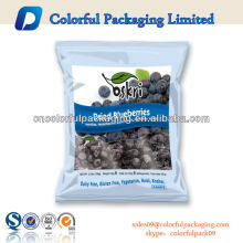 Ziplock Plastic Dry Fruit Packaging Bags , Apple Chips Bags