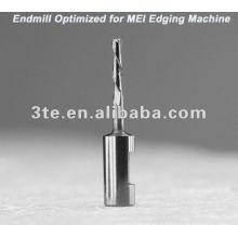 Lente óptica de carburo de tungsteno Endmill Bits para MEI máquina de bordes
