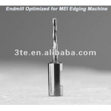 Optical Lens Tungsten Carbide Endmill Bits for MEI Edging Machine