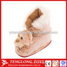 Новый дизайн плюшевых животных Крытый обувь обезьяна обувь