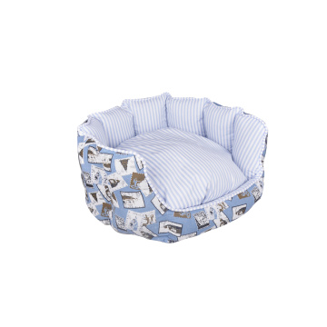 China for Round Pet Bed Pet Bed Lounge Asian export to Indonesia Manufacturer