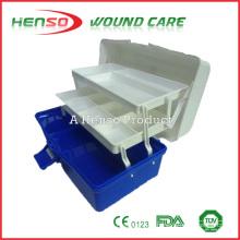 HENSO Material impermeable PP Caja de primeros auxilios vacía