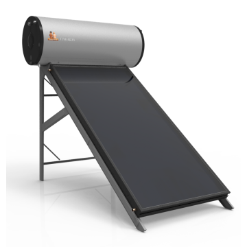 Calentador de agua solar de placa plana 150L