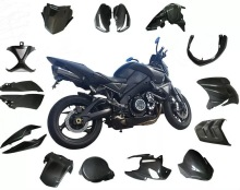 carbon fiber material motorcycle durable parts oem