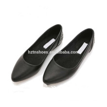 new design fashion ladies women ballerina shoes 2015 black lady flat shoes