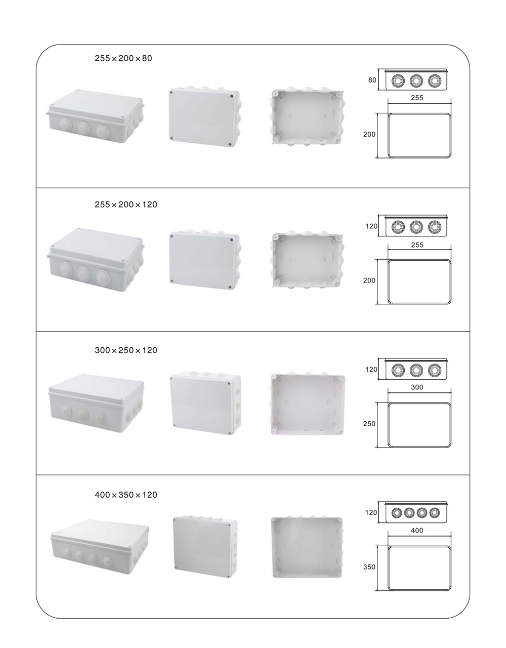 Application of Universal Junction Boxes13
