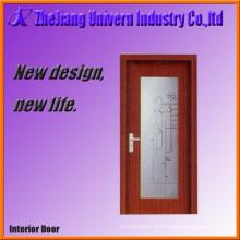 Portas de entrada moderna de madeira compensada Lisburn