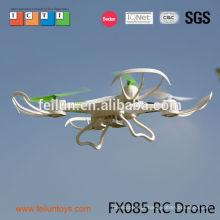 2014 novo zangões FX085 2,4 G 4.5CH a helicóptero do rc drone 6 eixos auto-pathfinder FPV gopro câmera