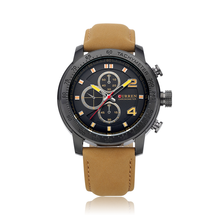 Royal CURREN Big Dial Sport Quartz Relógios