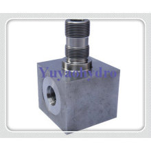 Forged Hydraulic Fittings with Junction Block